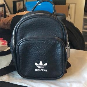 Black Adidas Mini Backpack